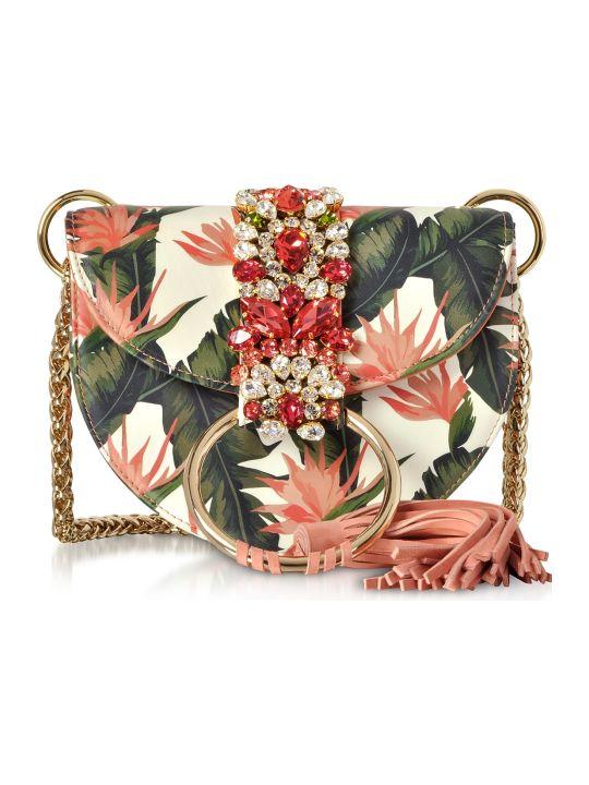 Gedebe Brigitte Banana Leaf Tassel Shoulder Bag
