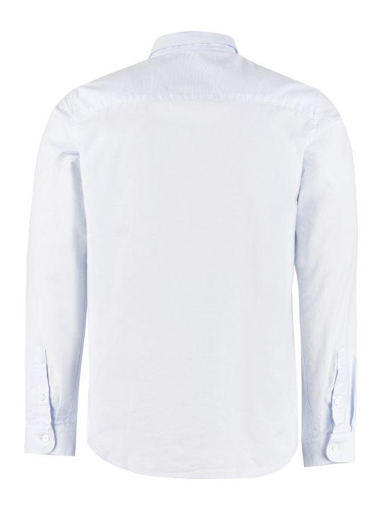Ami Alexandre Mattiussi Cotton Shirt With Button-down Collar