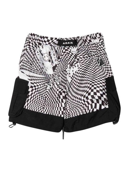 Araia Kids Checked Shorts