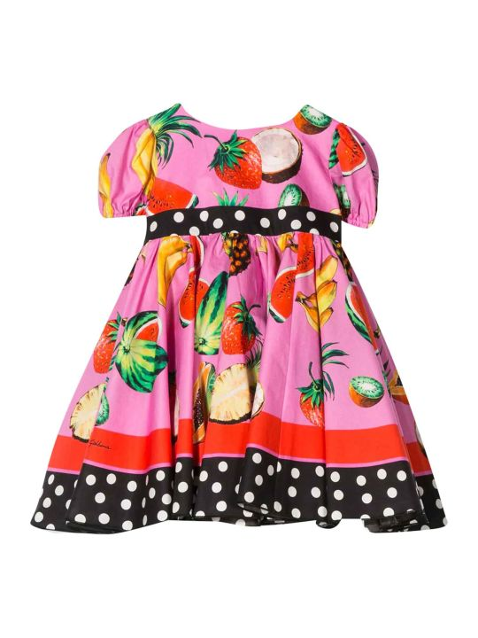 Dolce & Gabbana Fuchsia Baby Dress