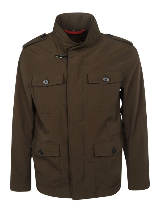 Fay Flap Pocket Field Jacket