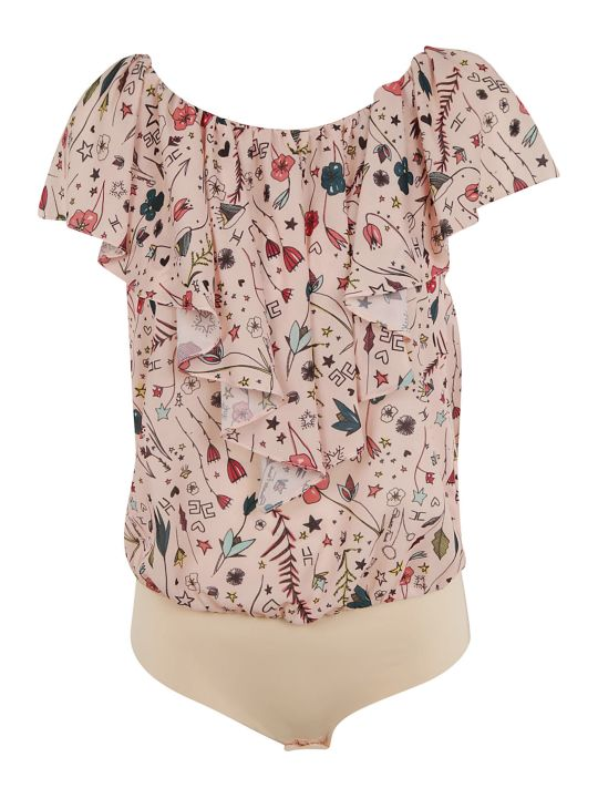 Elisabetta Franchi Celyn B. Elisabetta Franchi For Celyn B. Printed Bodysuit