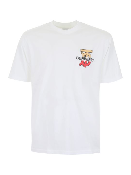 Burberry Gately T-shirt With Logo Patch