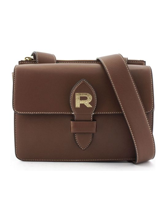 Rochas Brown Leather Bag
