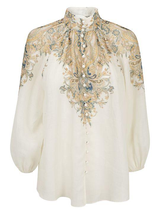 Zimmermann Freja Paisley Shirt