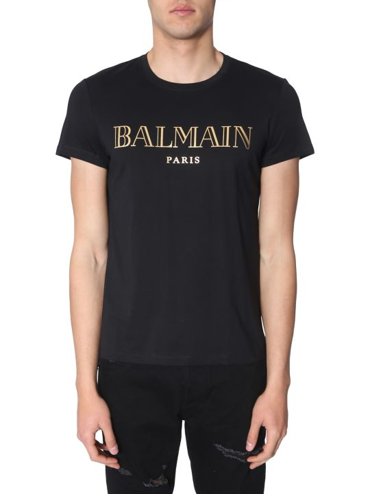 Balmain Crew Neck T-shirt
