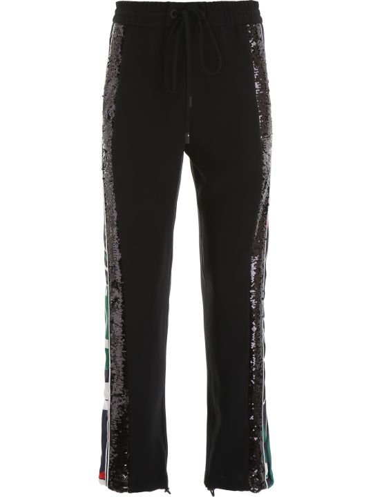 Iceberg Joggers With Logo And Sequins