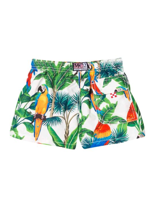 MC2 Saint Barth Swimsuit With Multicolor Press