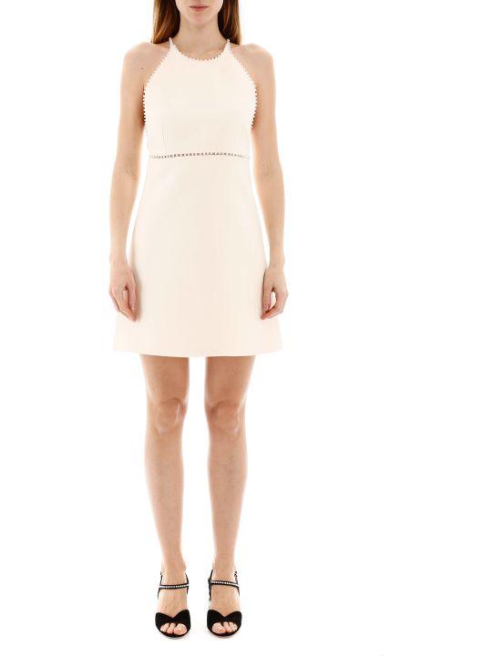 Miu Miu Mini Dress With Pearls