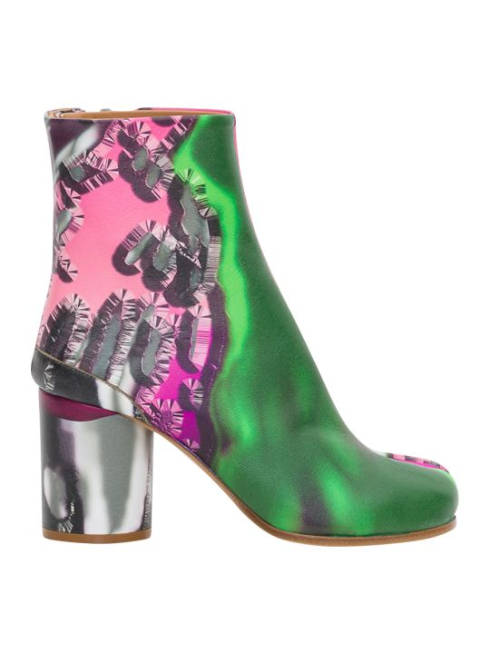 Maison Margiela Multiprinted Tabi Boots