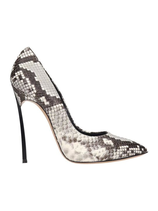 Casadei Pumps In Animalier Leather