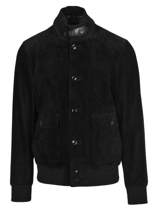 Tom Ford Bomber Suede