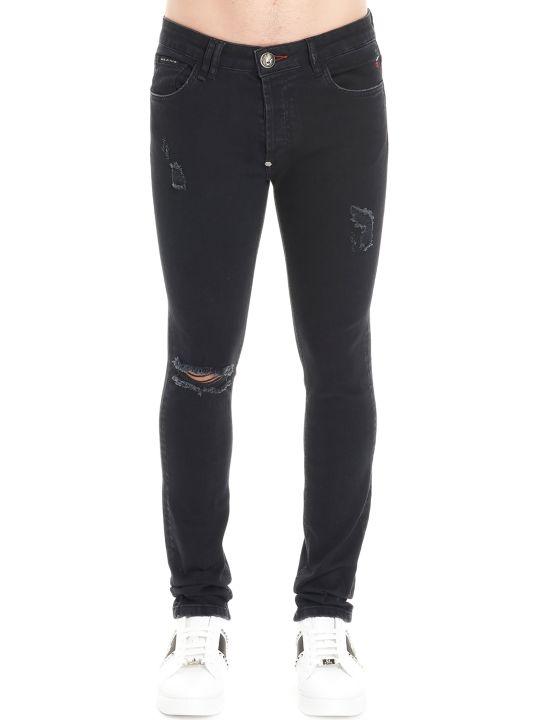 Philipp Plein 'super Straight Cut Statement' Jeans