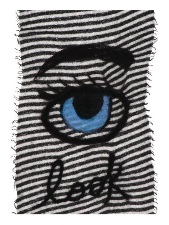 Faliero Sarti 'occhi Blu' Scarf