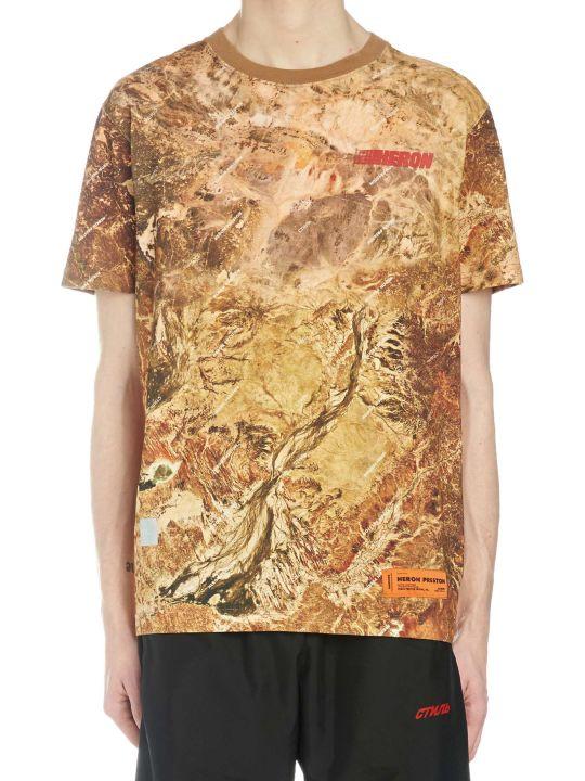 HERON PRESTON 'camo Heron' T-shirt