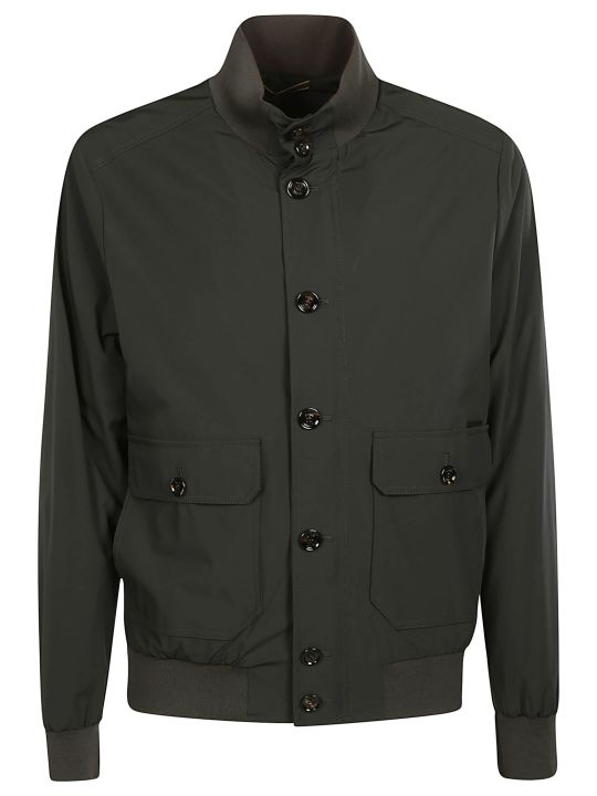 Moorer Classic Buttoned Bomber