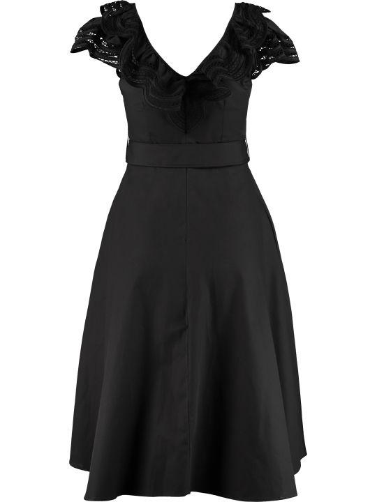 Parosh Midi Dress With Belt