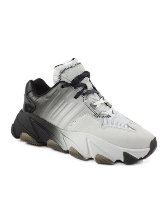 Ash White And Black Extasi Sneakers