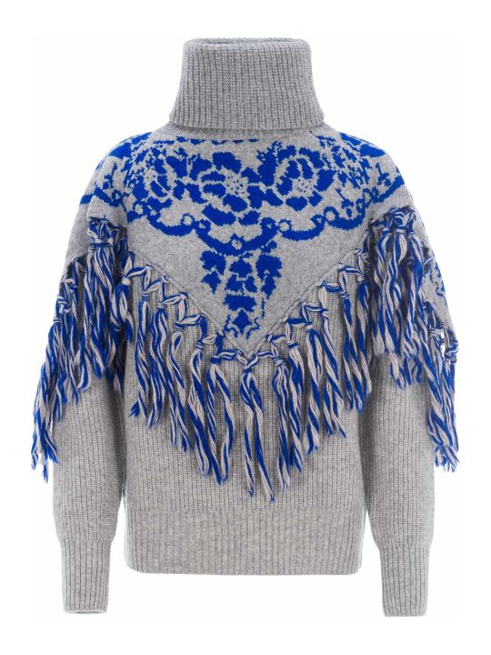Sacai Fringed Jumper