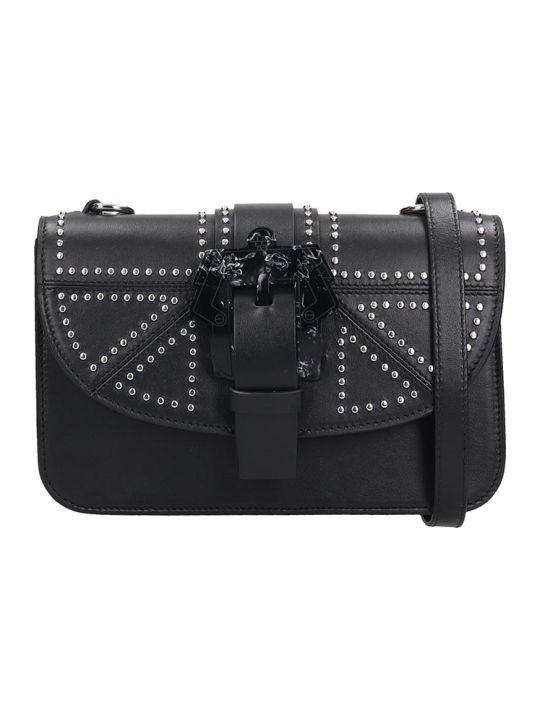 Paula Cademartori Shoulder Bag In Black Leather