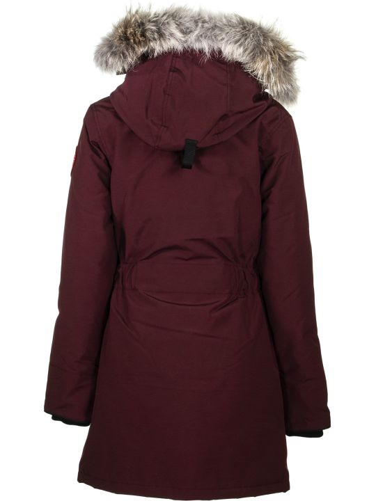 Canada Goose Trillium Parka Bordeaux Jacket
