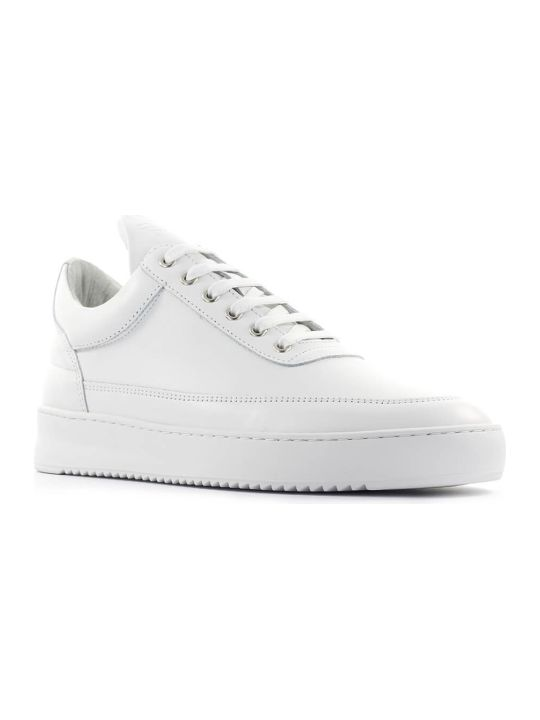 Filling Pieces White Low Top Ripple Lane Sneaker