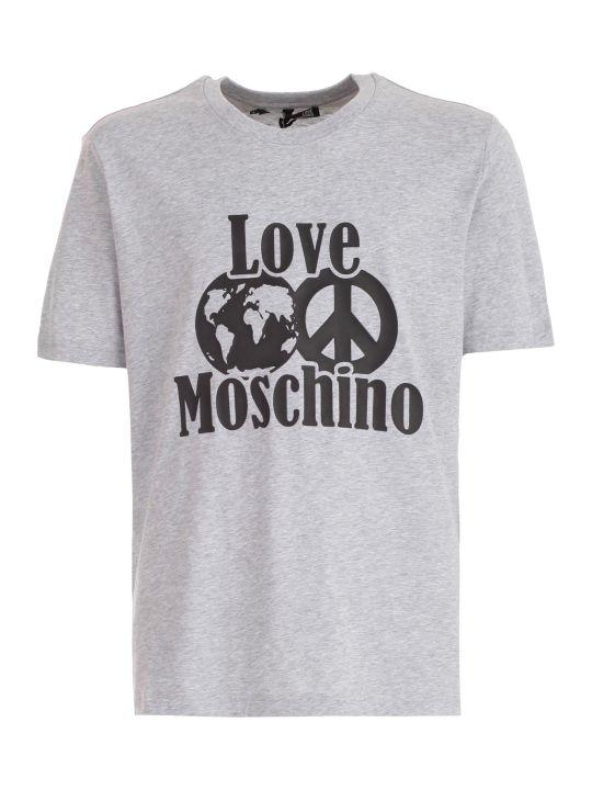 Love Moschino T-shirt S/s W/core Logo