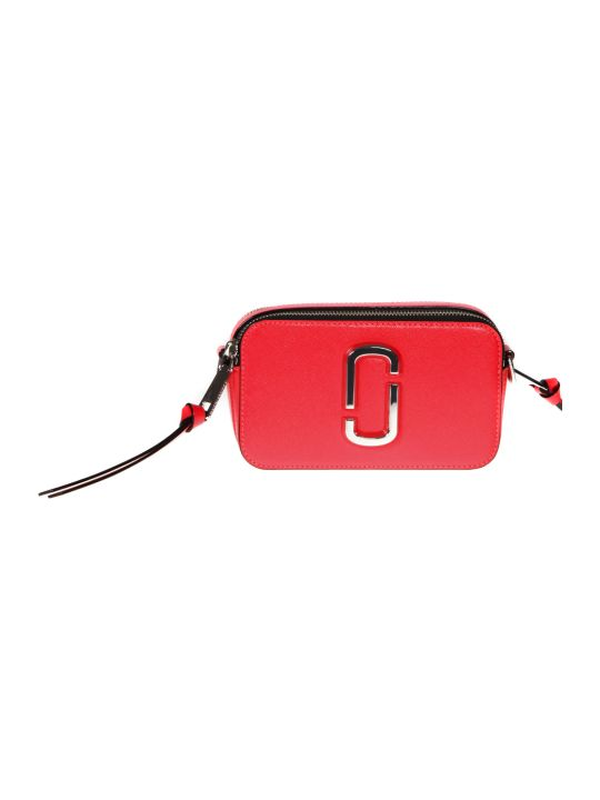 Marc Jacobs Coral Snapshot Leather Camera Bag