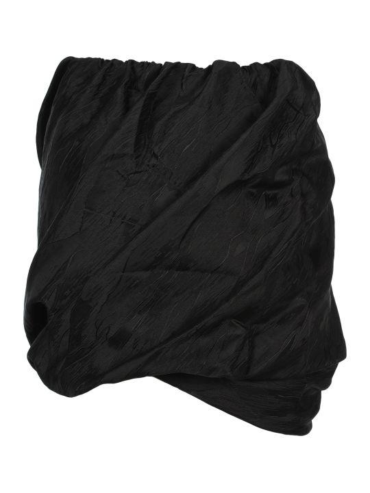 Ganni Jacquard Mini Skirt
