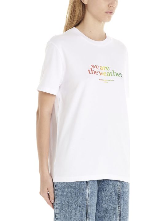 Stella McCartney 'we Are The Weather' T-shirt