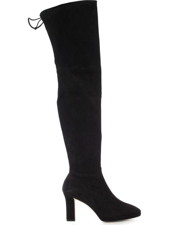Stuart Weitzman High Boots Suede W/heel