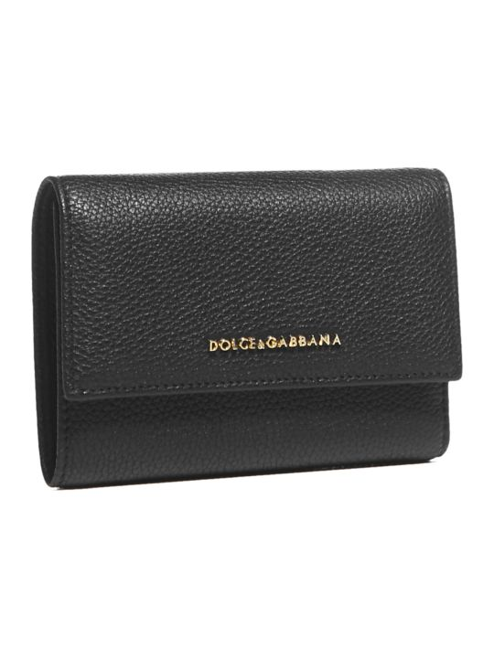 Dolce & Gabbana Logo Small Continental Wallet