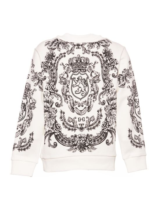 Dolce & Gabbana Dna Long Sleeved Sweatshirt