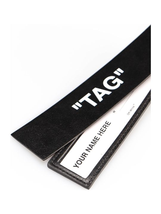 Off-White Quote Travel Tag