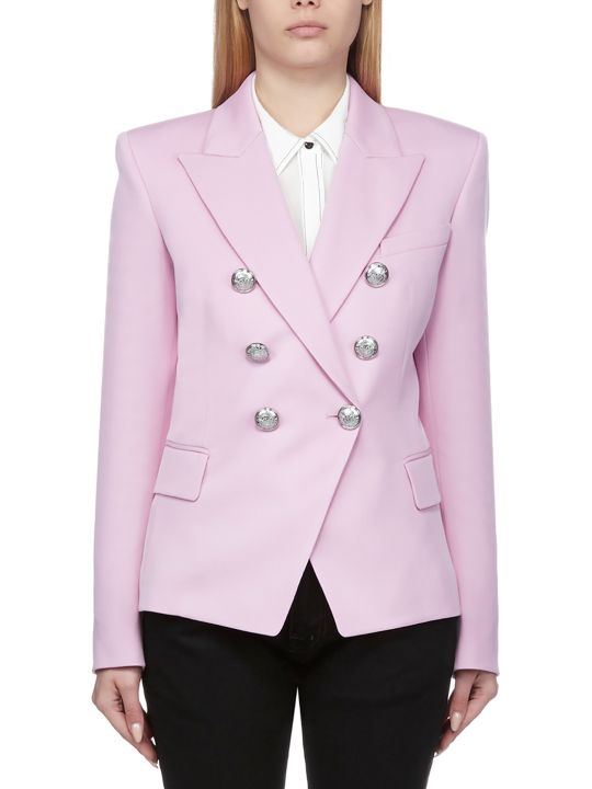 Balmain Double Breasted Classic Blazer