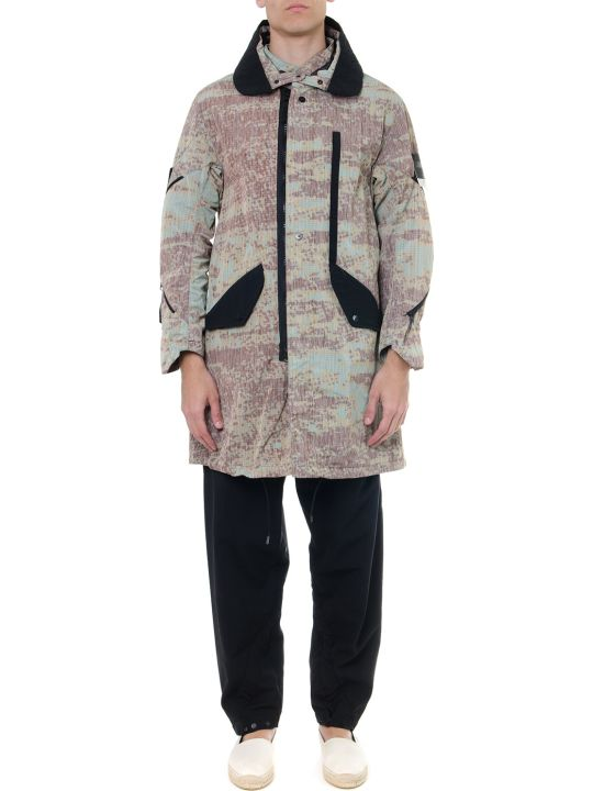 Stone Island Shadow Project Camo Print Shadow Project Parka
