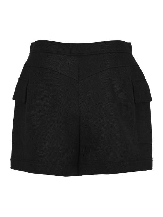Balmain Double-buttoned Flap Shorts