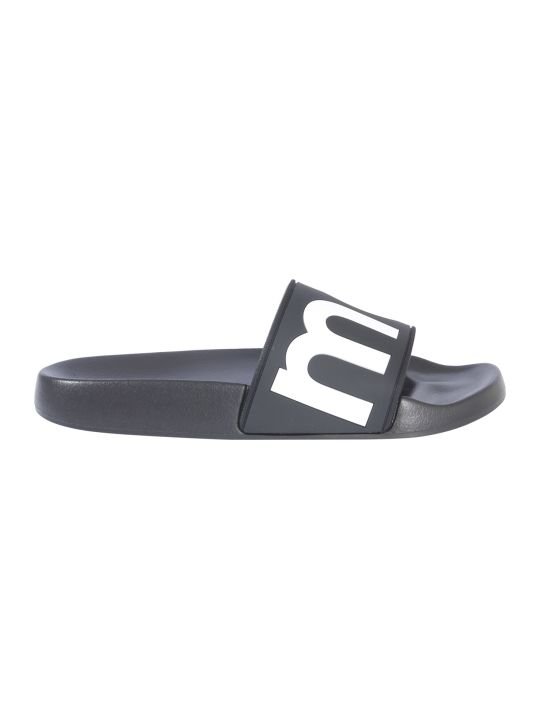 Isabel Marant Étoile Rubber Slide Slippers With Logo