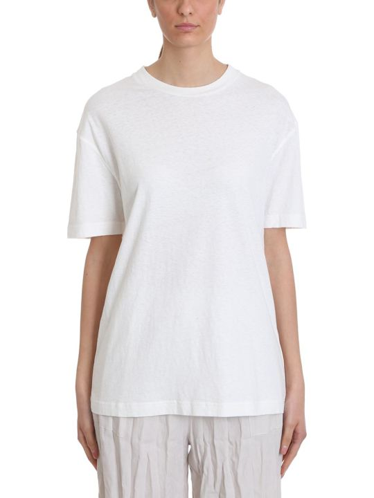 Acne Studios Elice T-shirt In White Cotton