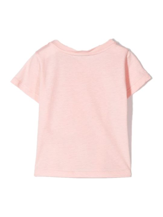 Fendi Pink Cotton T-shirt
