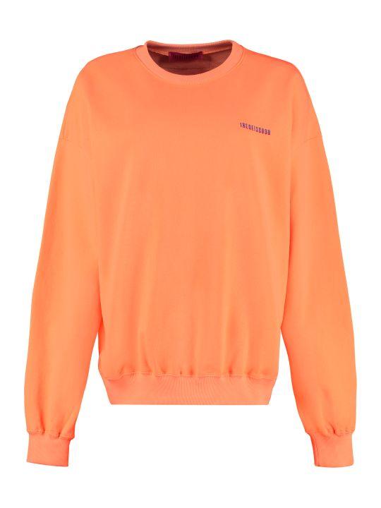 IRENEISGOOD Cotton Crew-neck Sweatshirt