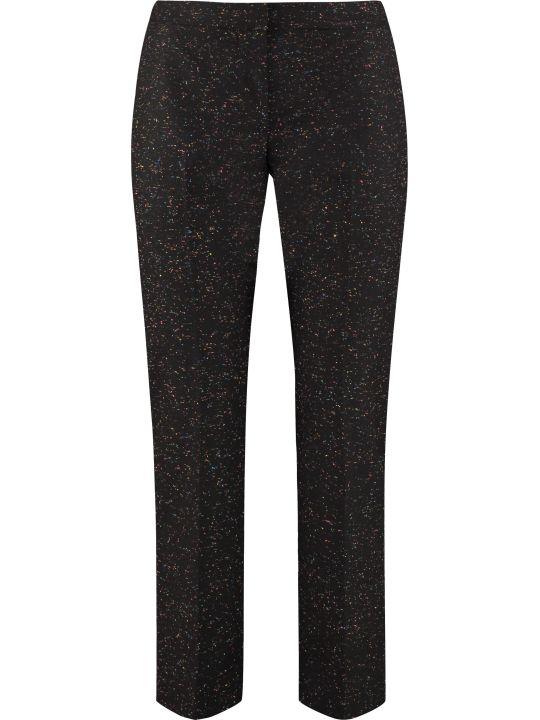 Alexander McQueen Wool-mohair Blend Tailored Trousers