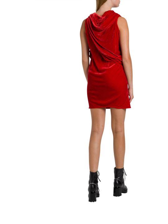 Rick Owens Knot Tunic Dress