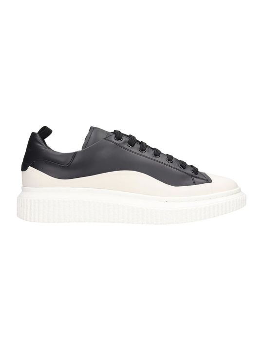 Officine Creative Krace Sneakers In White Leather