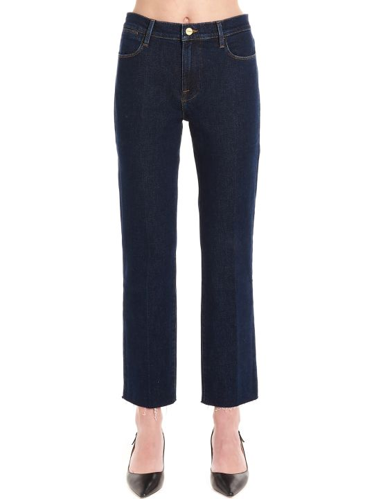 Frame 'le High Straight' Jeans