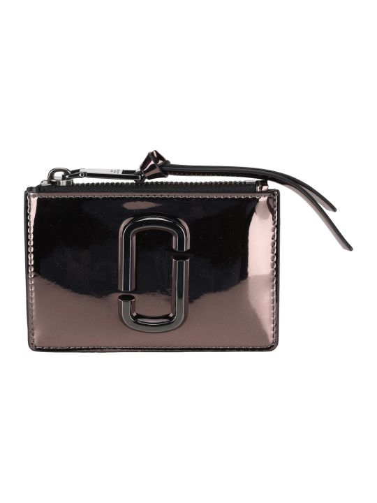 Marc Jacobs The Snapshot Mirrored Top-zip Multi Wallet