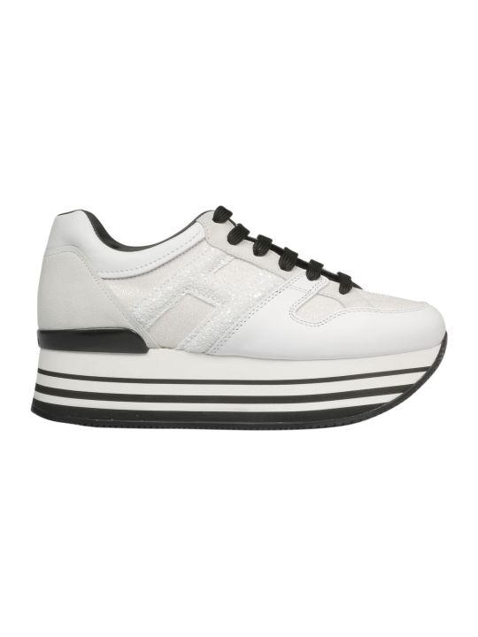 Hogan Striped Platform Sneakers