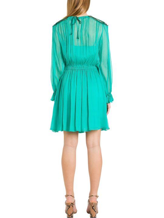 Alberta Ferretti Chiffon Dress