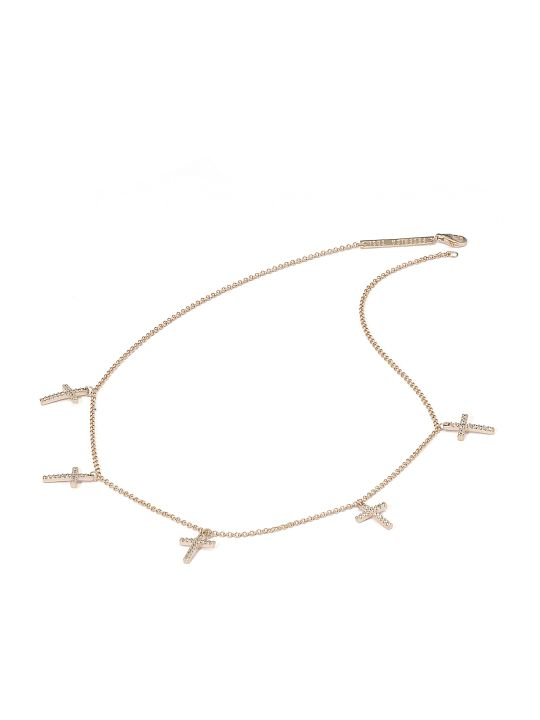 Federica Tosi Lace Faith Mini Necklace