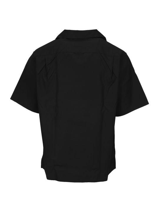 Prada Logo Patch Shirt